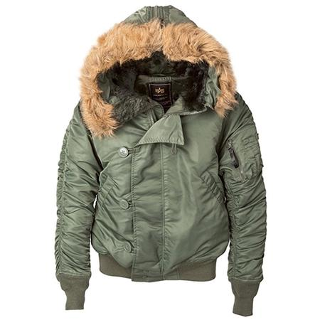 ALPHA INDUSTRIES N-2B Short Waist Parka - Sage Green