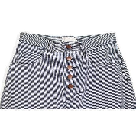 Carleen One Tone Jeans - Stripe
