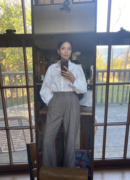 Christine Alcalay Cuffed Chaplin Pant
