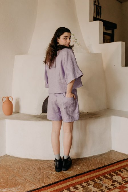 Muse the Label Ana Shorts - Lilac