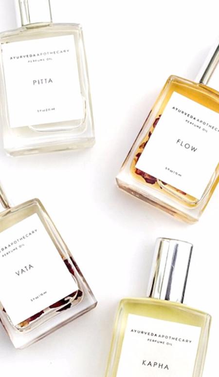 Ayurveda Apothocary Gift Sets Dosha Perfume Oil Set