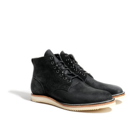 Viberg Service Boot - Charcoal Chamois Roughout
