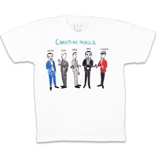 unfortunate portrait Christian Mingle T-shirt