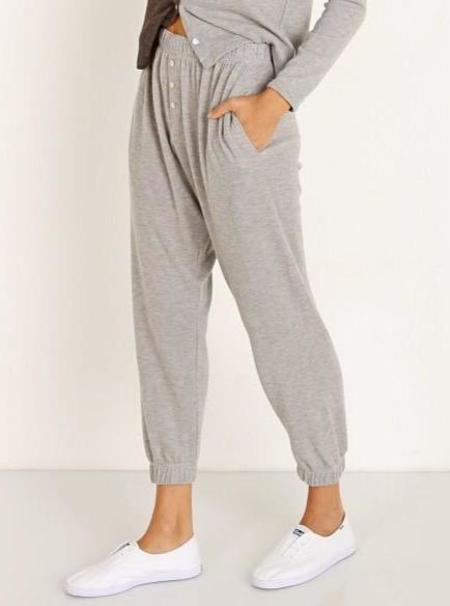 Donni. Sweater Sweatpants - Heather Gray