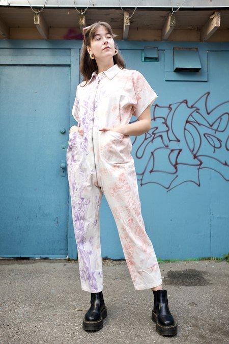 Rachel Comey Barrie Jumpsuit - Lilac