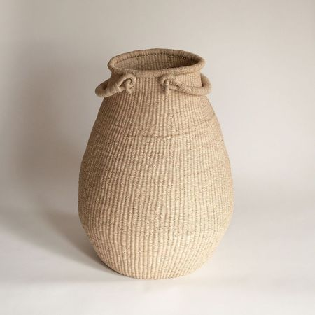 TWENTY ONE TONNES Pear Basket - Natural