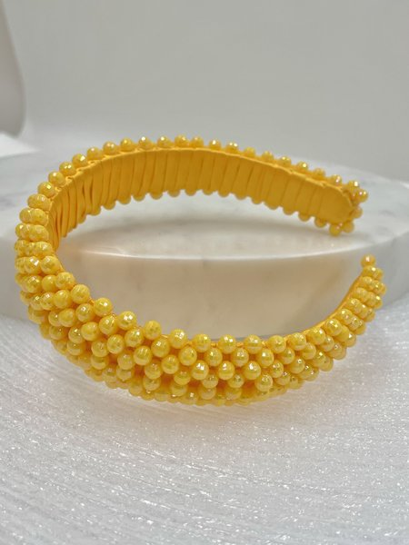 HANDS BAG Headband - Yellow