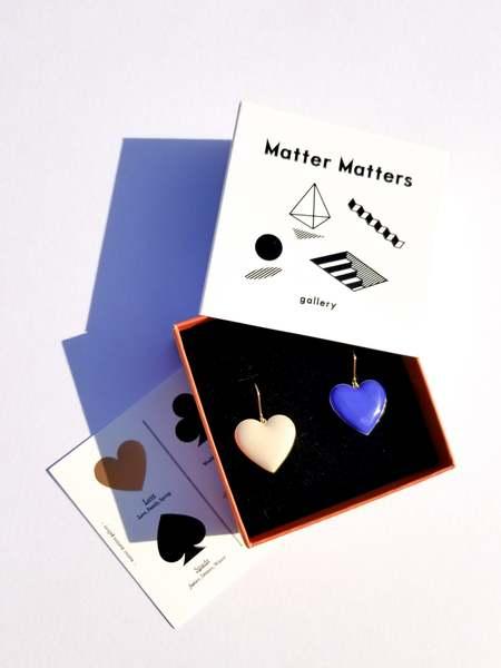 Matter Matters Love Earrings - Pastel
