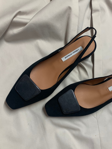 About Arianne Galo Beauty Vegan Shoes - Black