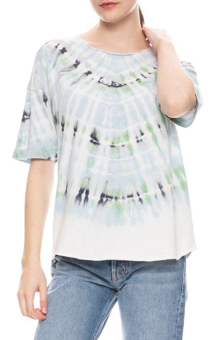 Raquel Allegra Tee - Minty Tie Dye