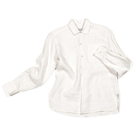 Blluemade New French Linen Pullover - White
