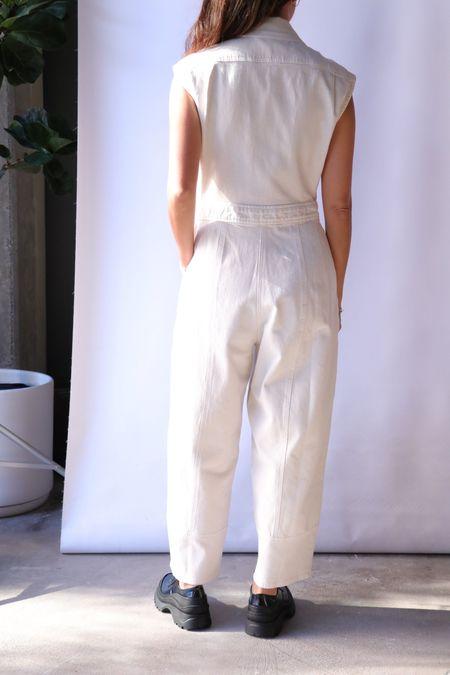 Rachel Comey Annin Jumpsuit - Dirty White