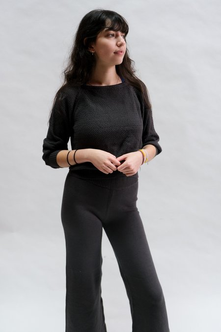Raised By Water Everyday Sweater - Charcoal
