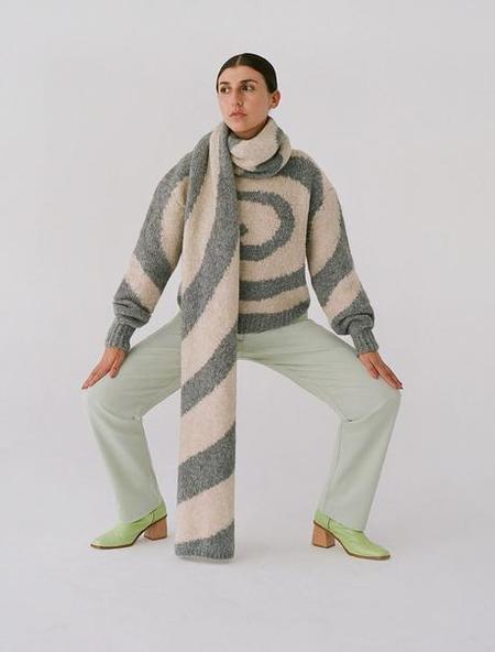Paloma Wool DIXIT scarf - Melange Grey