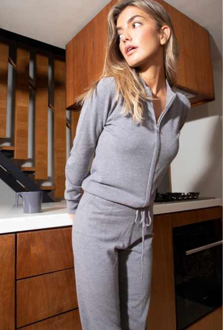 Never Fully Dressed Knit Jumpsuit