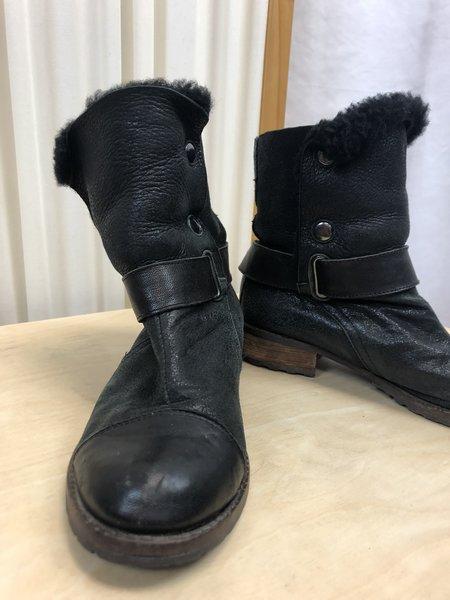 [Pre-loved] Matt Bernson Leather Lined Boots - Black