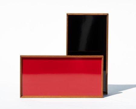 Architect Made Finn Juhl Turning Tray - Black/Red