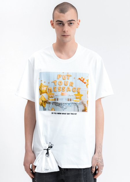 Doublet DIY Alphabet T-Shirt - White