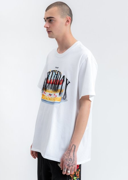 Doublet Not Birthday Embroidery T-Shirt - White