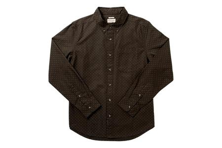 Bridge & Burn Sutton Shirt - Loden Polkadot