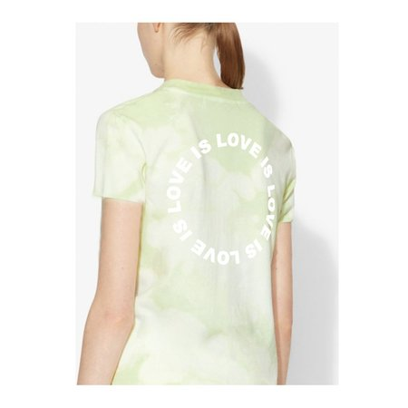 Farm Stand x Geige Silver Love is Love Tee Shirt - Green