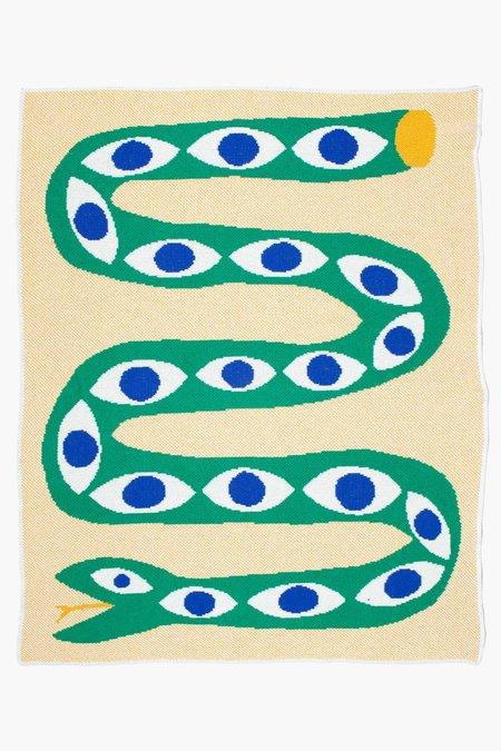 Kids Slowdown Studio Snake Eyes Mini Blanket