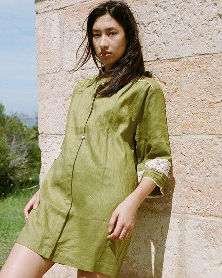 Wellington Factory Juno Tunic Dress - Olive