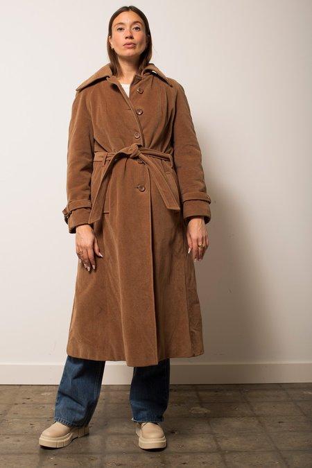Vintage Kajjmir Belted Coat - Camel