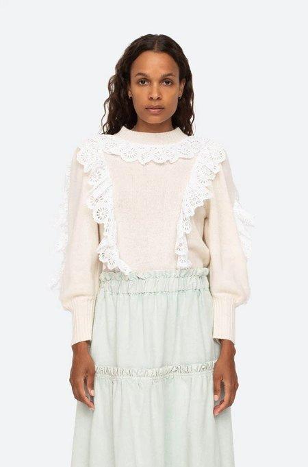 Sea NY Elodie Sweater - Ivory