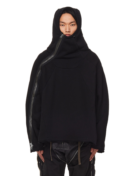 Hamcus Asymmetric Hoodie With Zipper