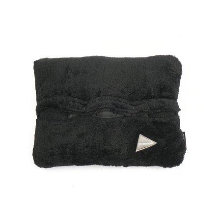 And Wander High Loft Fleece Blanket - Black