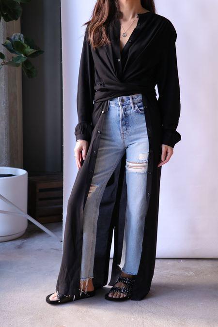 Rodebjer Art Dress Shirt - Black