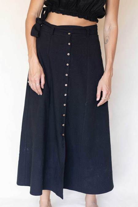 Arraei Collective Margot Skirt - Black