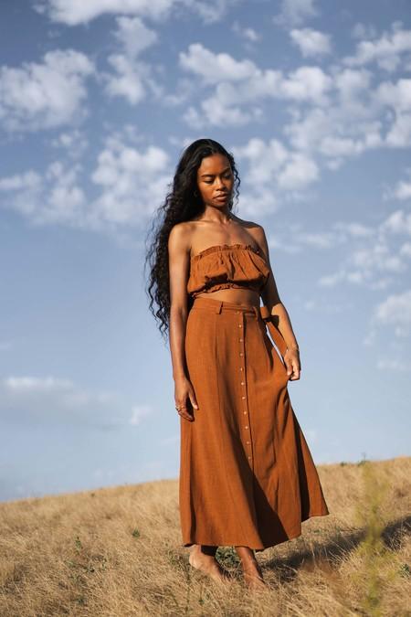 Arraei Collective Margot Skirt - Copper