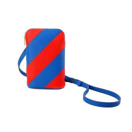 MATTER MATTERS Mini Hama shoulder bag - Red/Ultramarine