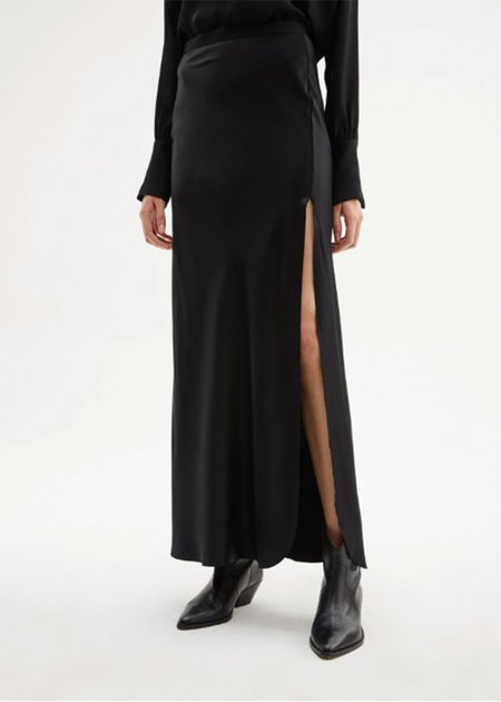 Nili Lotan Azalea Skirt - black
