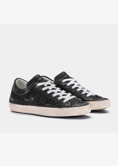 Philippe Model Paris Sneakers - Glitter Noir