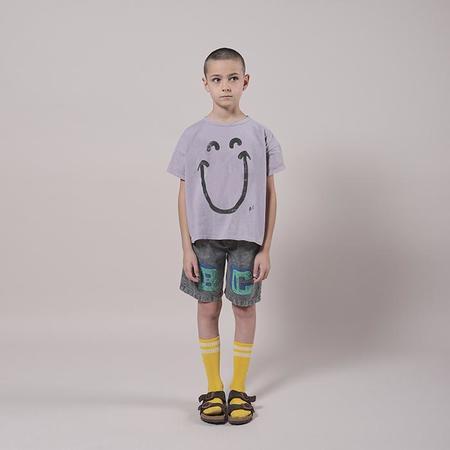 Kids Bobo Choses Bermuda Shorts With BC Print - Grey