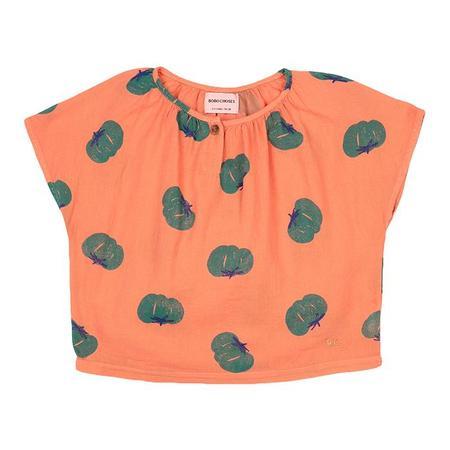 Kids Bobo Choses Blouse With All Over Tomato Print - Orange