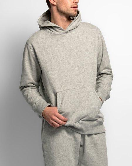 Bather hooded sweatshirt - heather grey
