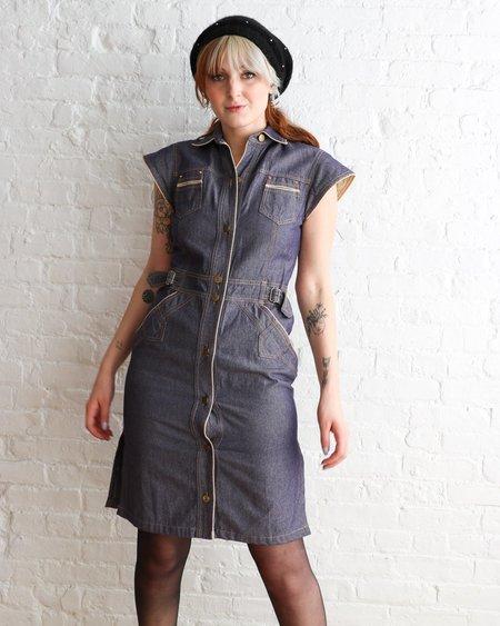 Vintage Sonia Rykiel Vintage Midi Dress - Denim
