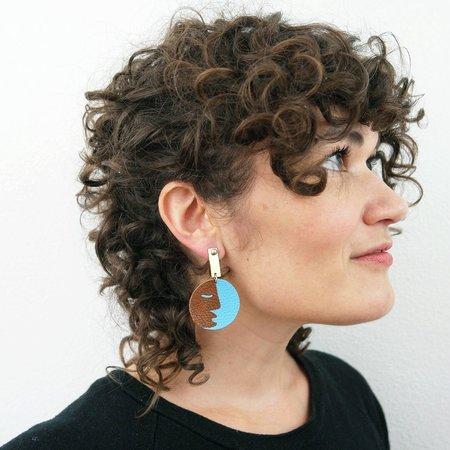 Future Ancestors Raiz Earrings - 14k goldfill