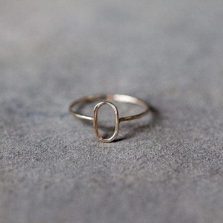 Melissa Joy Manning Sterling Oval Ring