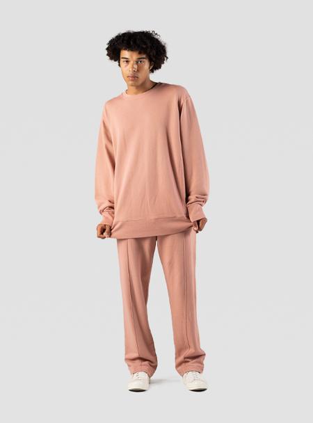 I AND ME Organic Brushed Sweatshirt - Cassis Pink