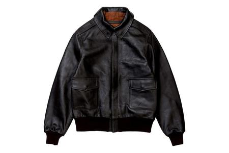 Milworks US Military Style A-2 Flight Jacket - Brown