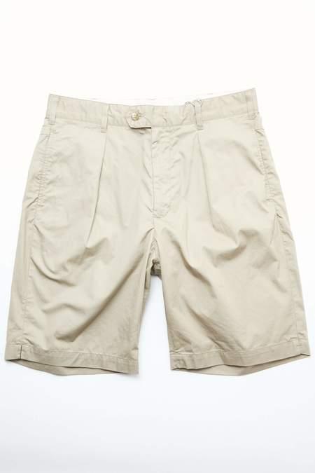 Engineered Garments Sunset Short - Khaki High Count Twill