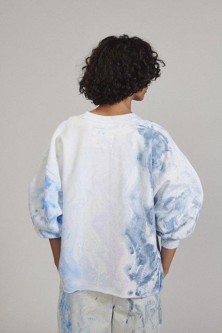 Rachel Comey Fond Sweatshirt - Ink Marble