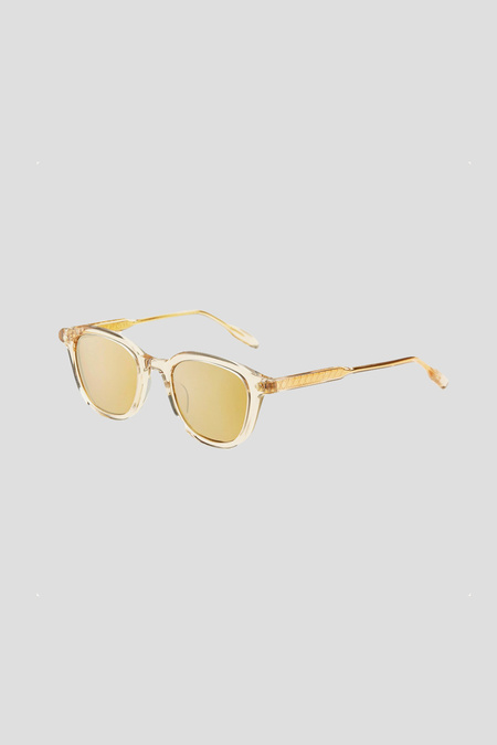 Lunetterie Générale Enigma Sunglasses - Smoked Crystal/Bronze