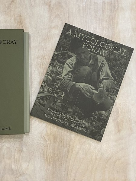 """Atelier Editions """"John Cage: A Mycological Foray"""" by Kingston Trinder Book"""