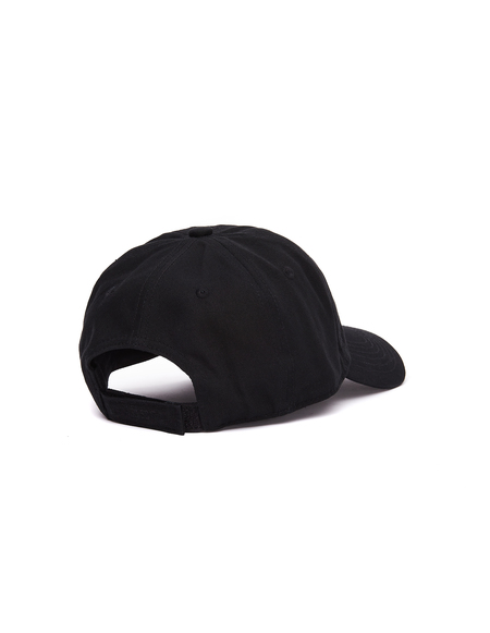 Vetements Embroidered Logo Cap - Black